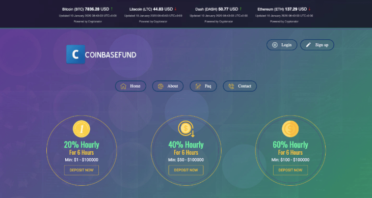 Coinbasefund.club Review