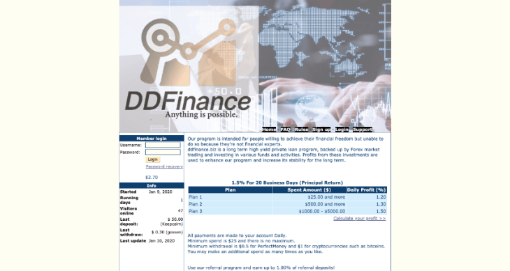 Ddfinance.biz Review
