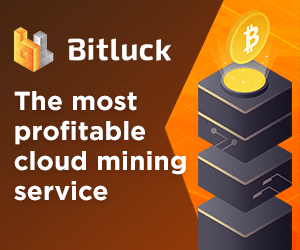 Bitluck - The most profitable cloud mining service - Start Mining Now
