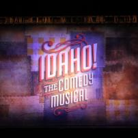 "Sharkstooth Scrim ""Idaho The Musical Comedy"" at the Smith Center. Printed on Sharkstooth Scrim by Big Image Systems"