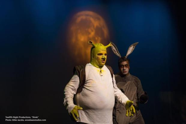 Shrek pic with Moon GOBO