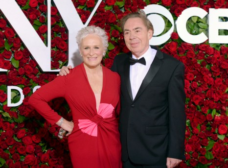 Glenn Close, Andrew Lloyd Webber