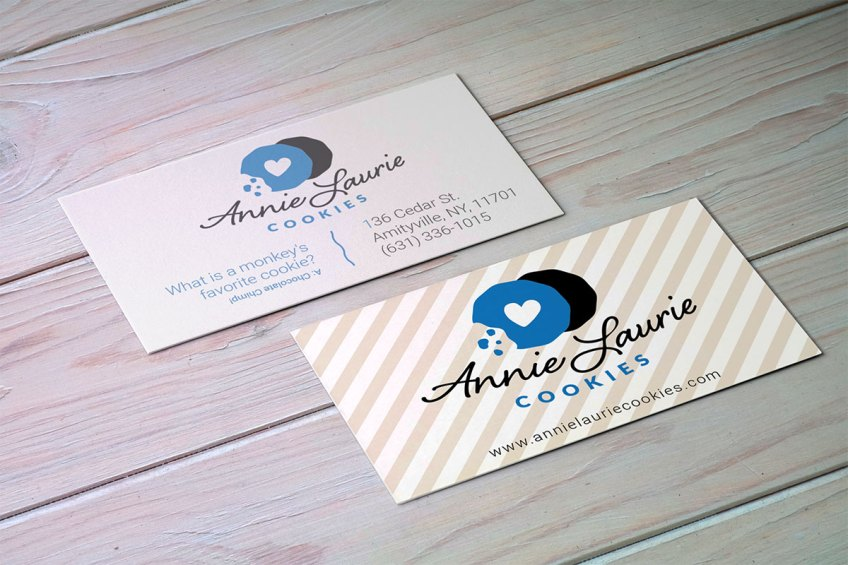 AnnieLaurie-Cookies-business-card-design