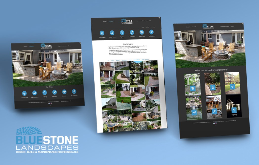 Bluestone-Landscapes-Website-Design