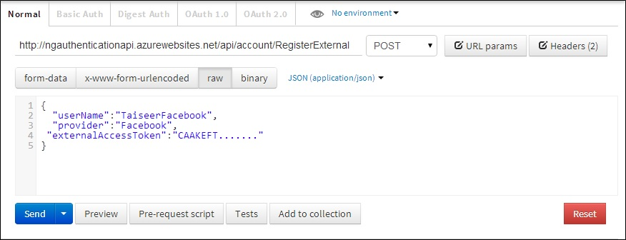 ASP.NET Web API 2 external logins with Facebook and Google in AngularJS app (4/6)