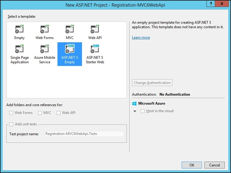 Getting started with ASP.NET 5 MVC 6 Web API & Entity Framework 7 (2/6)