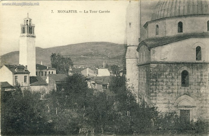 Clock Tower Bitola in 1917