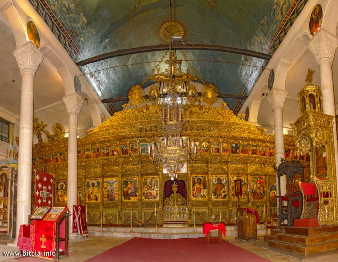 Iconostasis - Saint Dimitrij Church in Bitola (Св. Димитрија Битола)