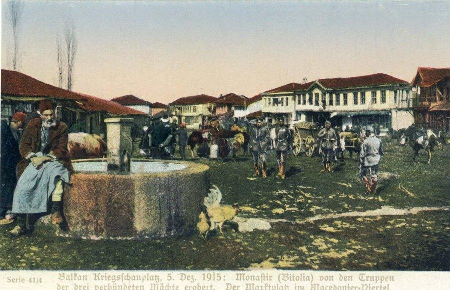 Wood Market - Bitola 1915