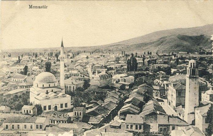 "Bitola ""Pekmez"" Bazaar in 1915."