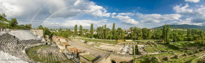 Heraclea - view from Roman Theatre