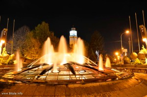 clock tower and fountain bitola