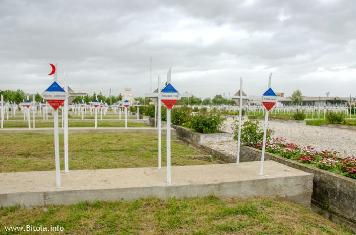 Muslim, Christian, Jew - French Military Cemetery - WW1 - Bitola