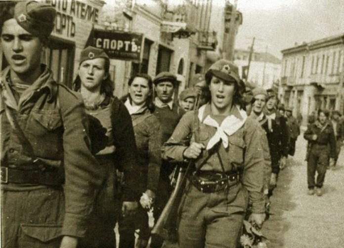 Bitola Macedonia Sirok Sokak - liberation - Second World War