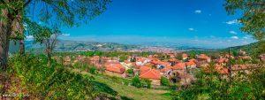 Brusnik village, Municipality of Bitola Macedonia - Panorama