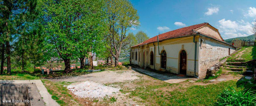 st. Dimitrij - Brusnik village, Municipality of Bitola Macedonia - Panorama