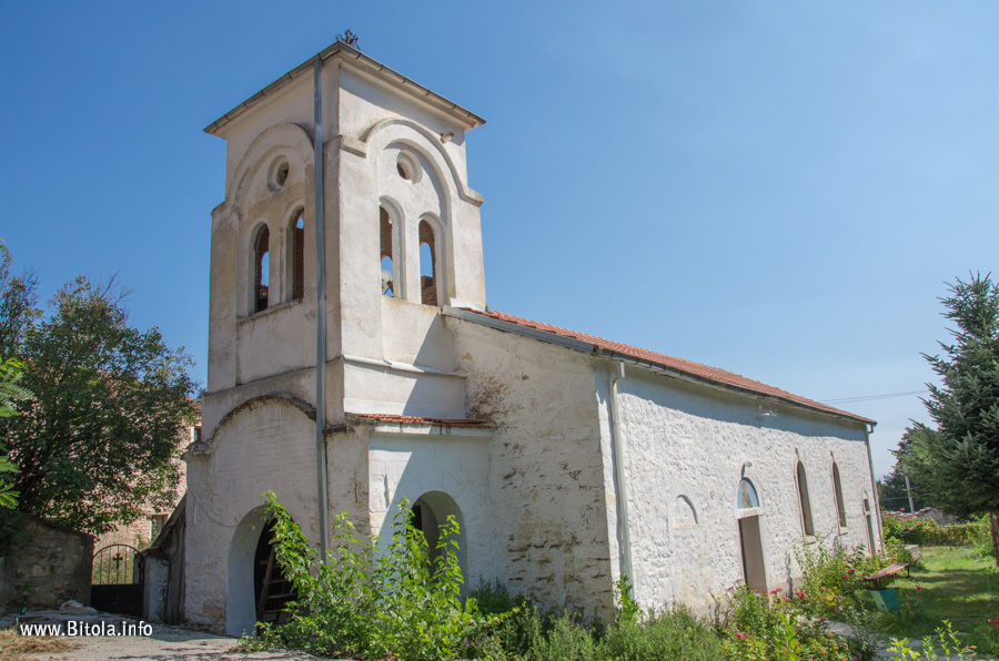 You are currently viewing St. Dimitrij (Св. Димитриј) church in Dihovo