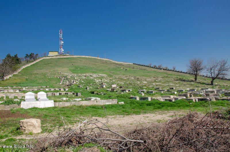 Jewish cemetery Bitola, Macedonia