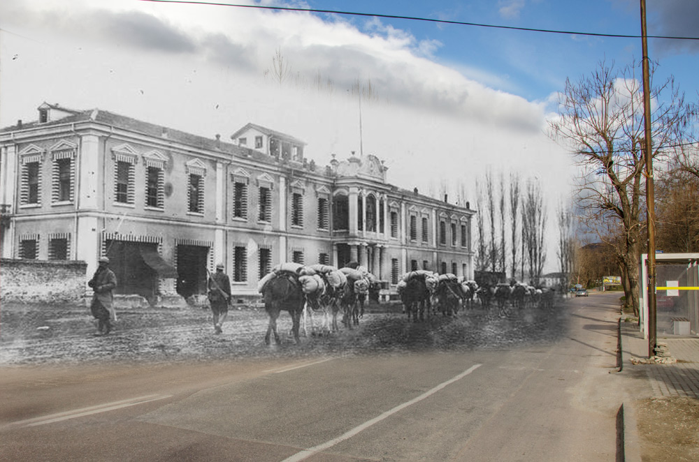 Read more about the article Аrts and crafts school in the beginning of XX century and today… – Bitola – then and now