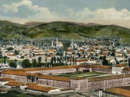 Црвената и дел од Белата касарна во Битола