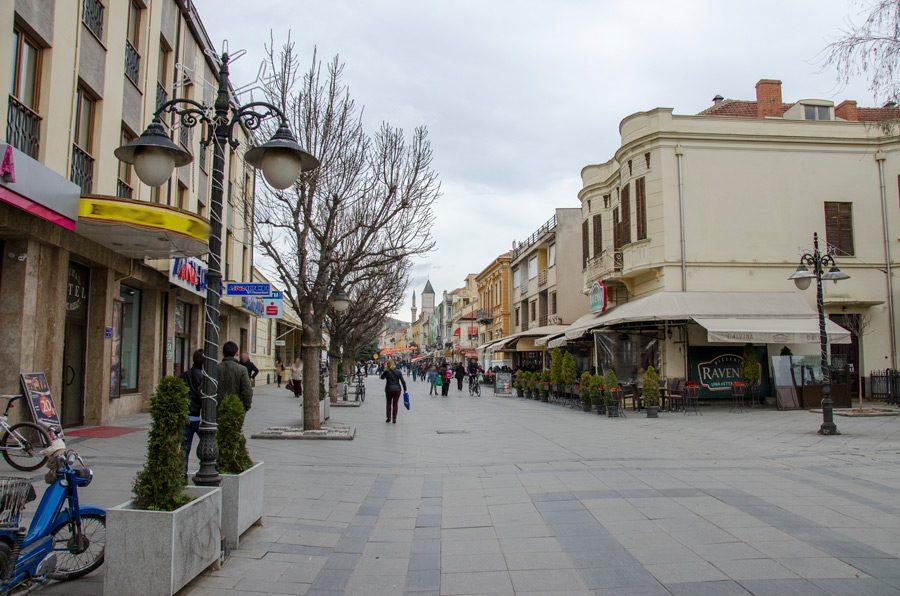 Улица Широк Сокак (пред Стопанска банка)