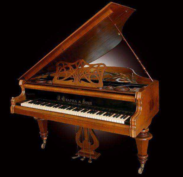 Концертен клавир - J.CZAPKA & SOHN - WIENA, 1840 година Сопственик: НУ Завод и музеј Битола / Откупен од семејството Спростран кое го купува клавирот во Виена