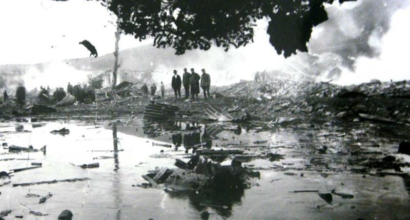Read more about the article Големата експлозија во Битола – 18.04.1922