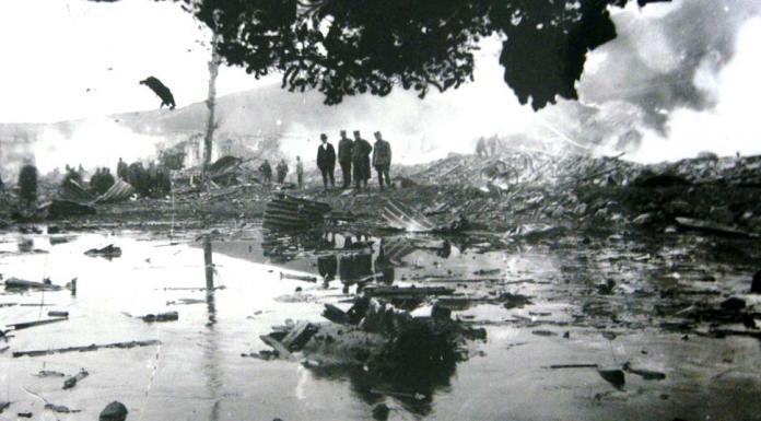 Последици од експлозијата во Битола - фото Манаки