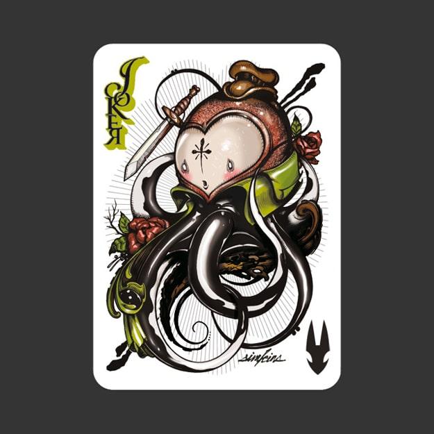 52 Ace Illustrators In One Deck Of Cards  Bit Rebels