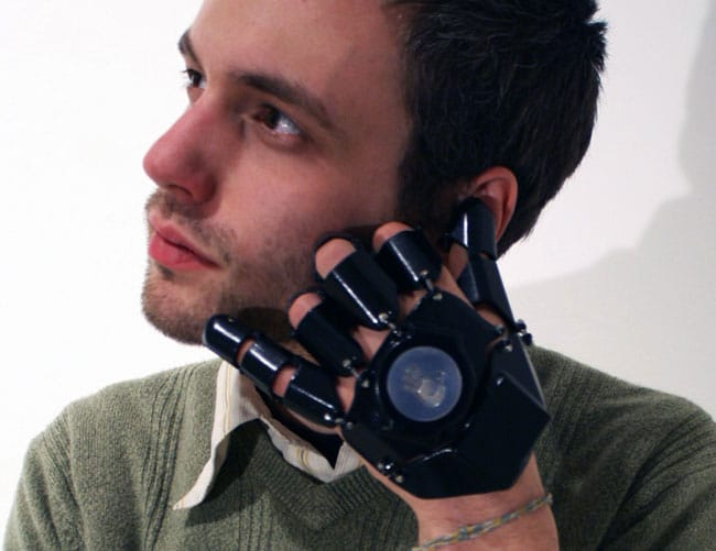 Glove One Fully Working 3d Printed Cell Phone Glove Bit