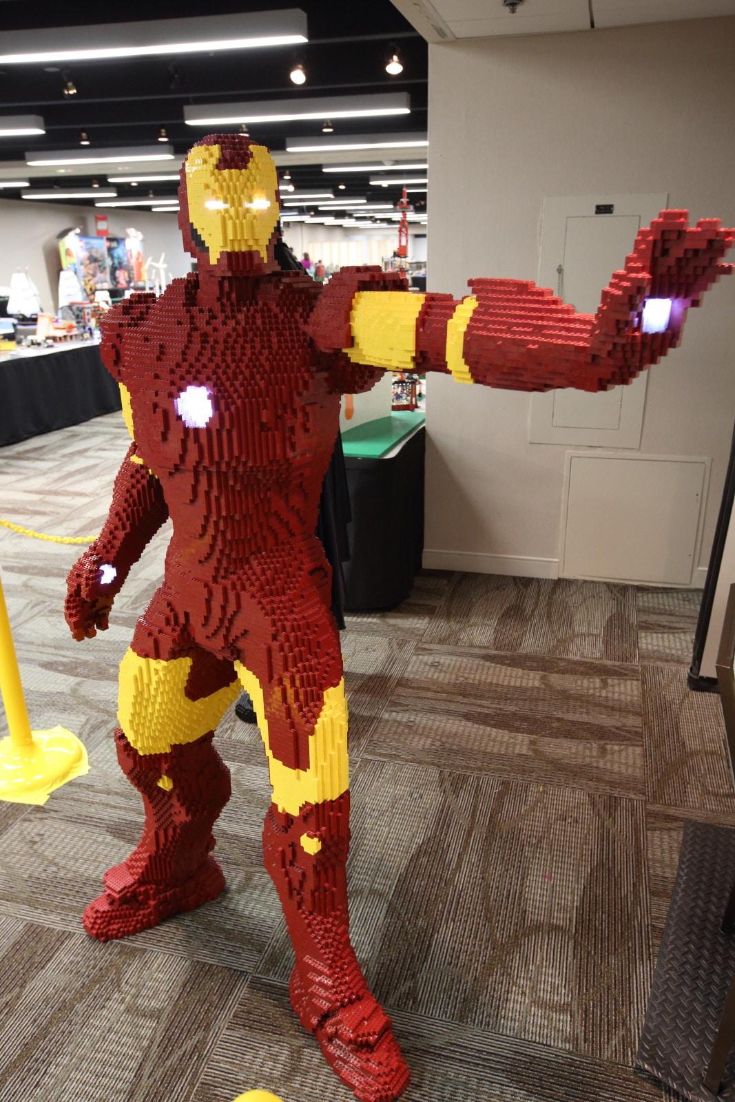 Iron Man Lego Build Is An Epic Life Sized Brick Marvel