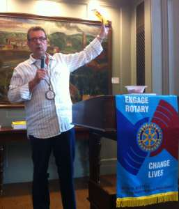 President Tony Riggio - Engaging Rotary and Changing Lives!!!
