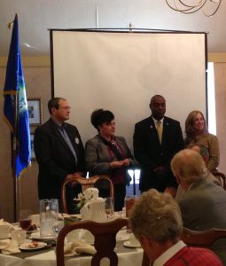 Daryle Dennis and Janice Perna-Nicholasare inducted into the Club