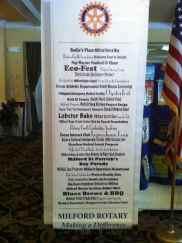 Milford Rotary Brag Board