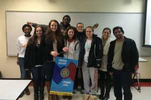 Sacred Heart Rotaract Club Members