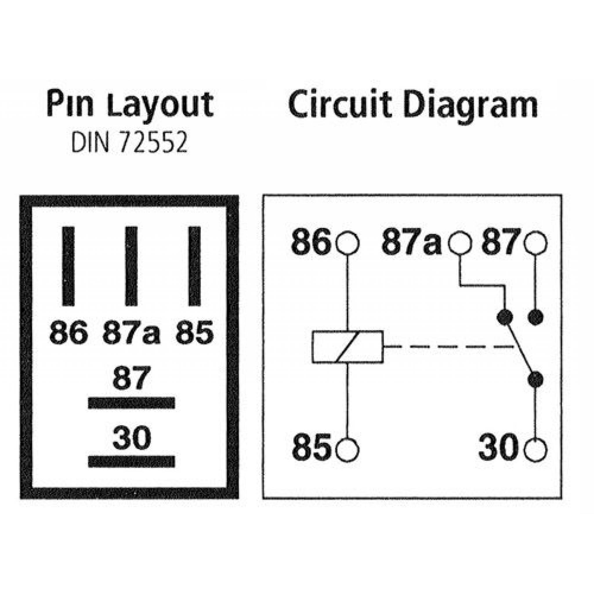 Relay Wiring Diagram 5 Pin Database