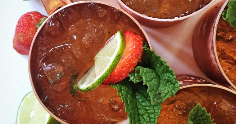 White Wine Moscow Mules