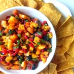 Sweet and Spicy Pico De Gallo