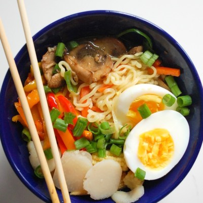 Loaded Vegetable Instant Ramen
