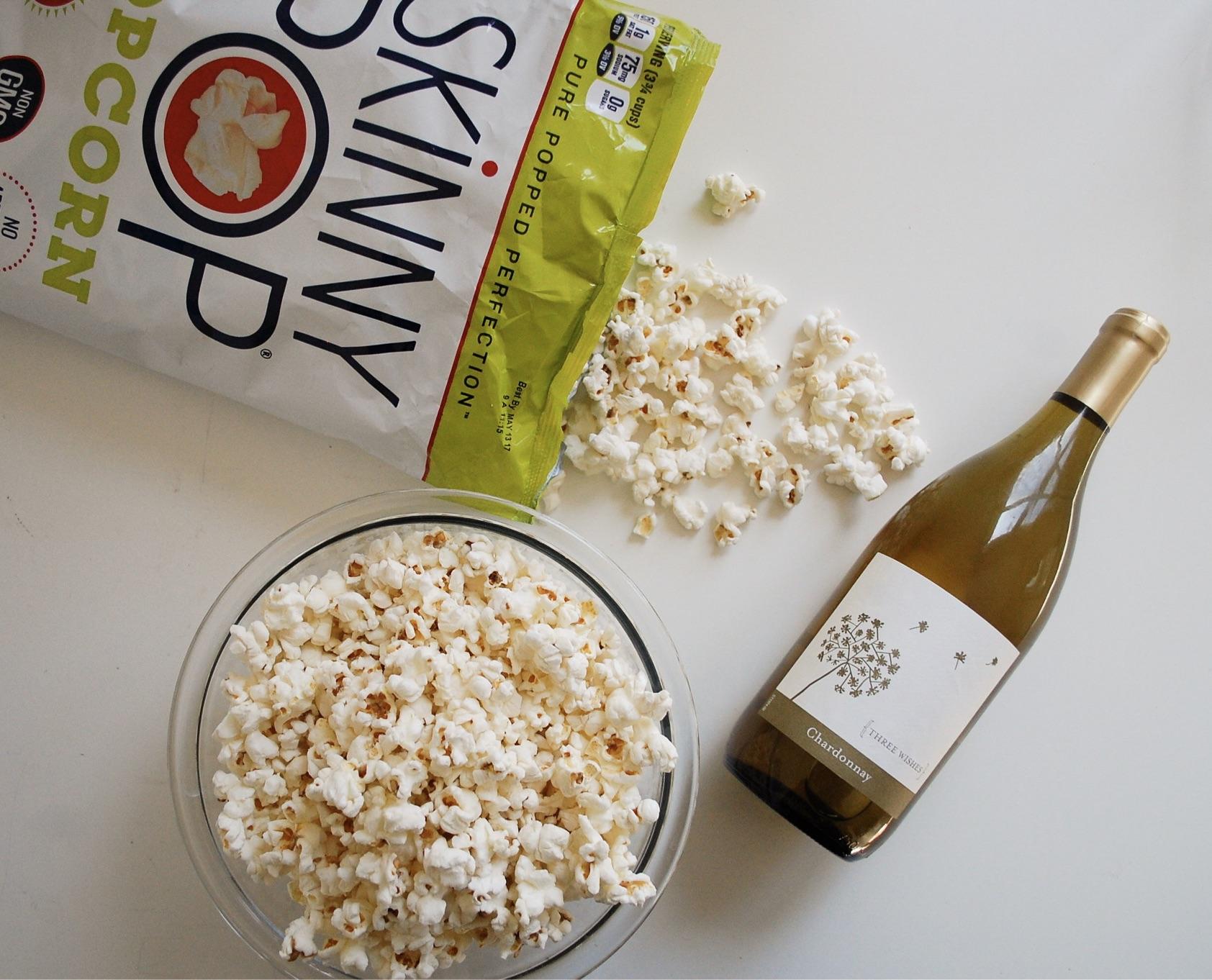 SkinnyPop + Wine Pairings