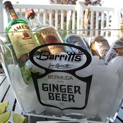 Summertime Happy Hour featuring Barritt's Ginger Beer