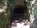An old abandoned mine shaft.