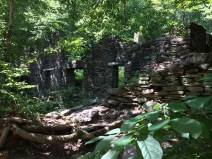 Another view of the ruins.