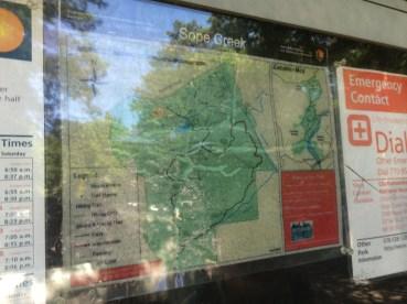 Sope Creek Sign.