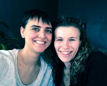 Kate Marple and Melissa Bergstrom, Founders, Perpetual Visitors Theatre