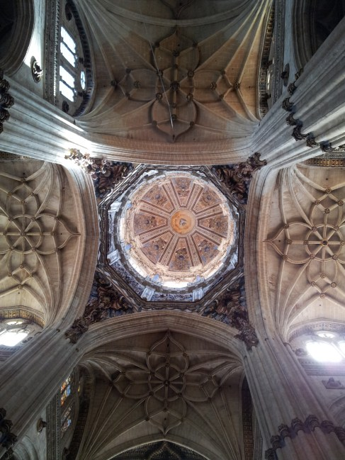Cupula of New Cathedral in Salamanca