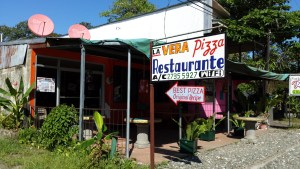 Pizza restaurant in Puerto Jimenez