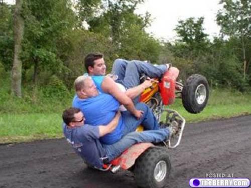 3 wheelin
