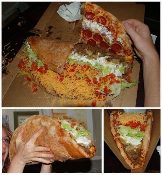 Pizza-taco