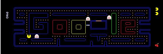 Google PacMan logo